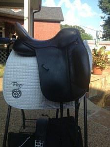 Trilogy dressage saddle for sale